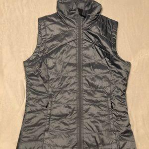 Columbia Omni-Heat Women's Steel/Baby Blue Vest